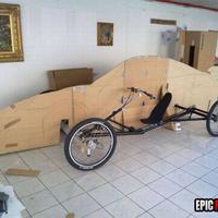 Lábbal hajtott Porsche