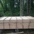 Asztalos: fűrészáru tárolása és természetes szárítása