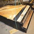 Zongoraépítés: Testformálás fűrésszel