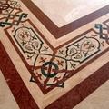 Intarziás padló gránitból