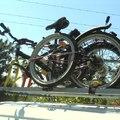 Biztonságos házi bicikliszállító