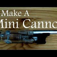 Készítsünk mini ágyút öngyújtóból