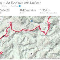 Öt nap (majdnem) 88km