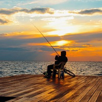 A horgász szállít