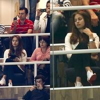 Irina a Bernabéu stadionban