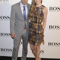 Figo és felesége Hugo Boss partyn jártak