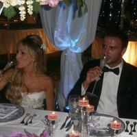 Képek Pazzini esküvőjéről