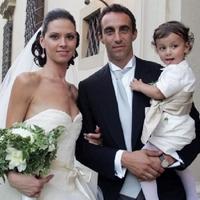 Dainelli és Rebecca Rocchini esküvője
