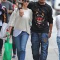Kevin Prince Boateng és Melissa Satta New Yorkban