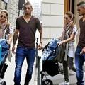 Kevin Prince Boateng családjával vásárolgat