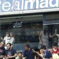 Xabi Alonso és Marcelo családja a lelátón