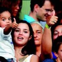 Ma ünneplik Ronaldinhóék gyermekük, Joao 5. születésnapját