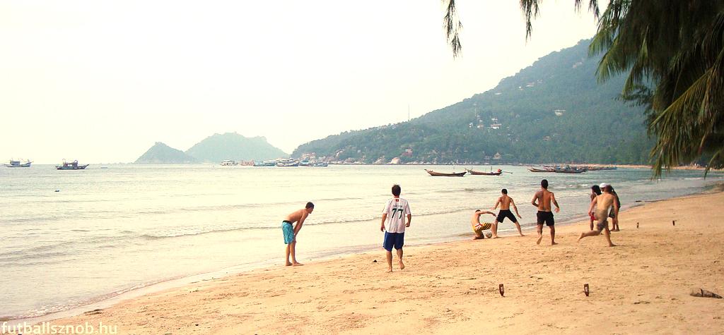 A strand rendeltetésszerű használata (Koh Tao, Thaiföld)