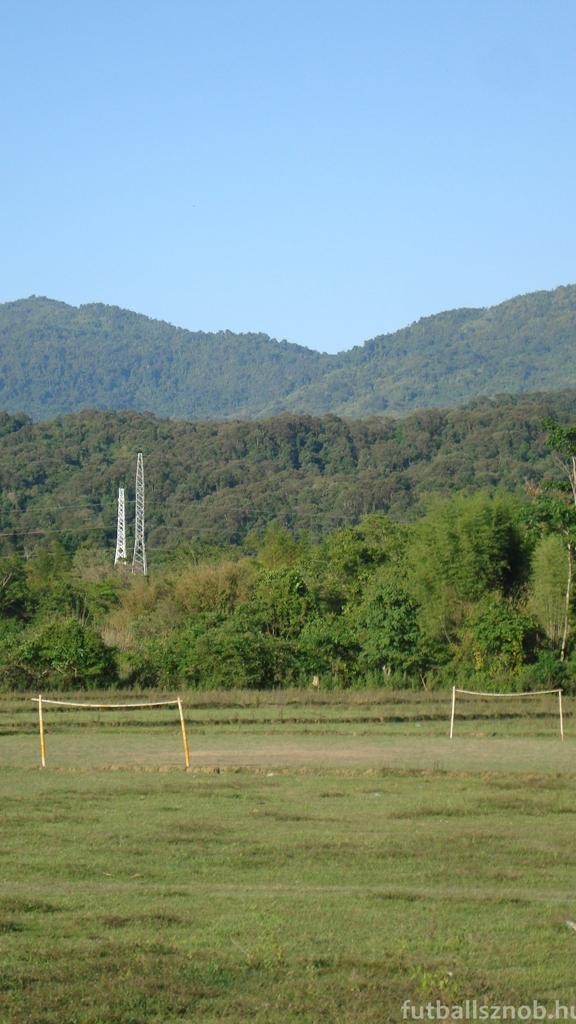 Csak mező kell és bambusz (Vang Vieng környéke, Laosz)
