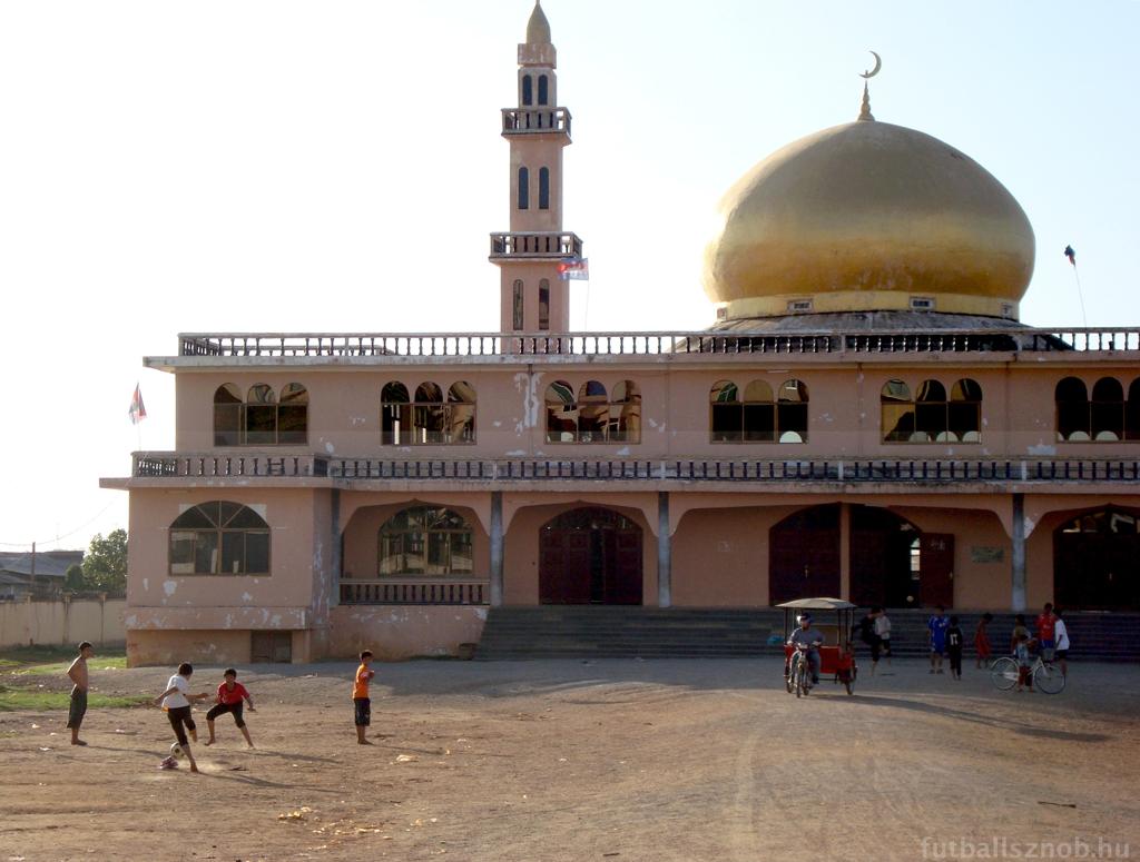 Grund az Al Serkal mecsetnél (Phnom Penh, Kambodzsa)