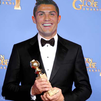 Ronaldo nyert a Golden Globe-on!