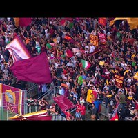 Az AS Roma szurkolói az 1-7-es vereség után is tapssal búcsúztak csapatuktól