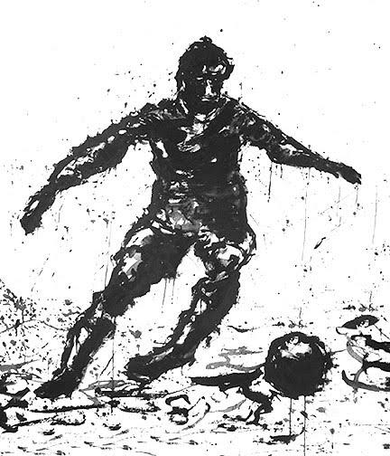soccer football art John Robertson Sports artist.jpg