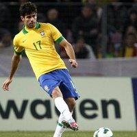 Diego Costa, amikor még brazil válogatott volt