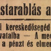 Az első bajnokok - a kapus, aki rablót fogott