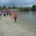 Triatlon verseny a magyar fővárosban