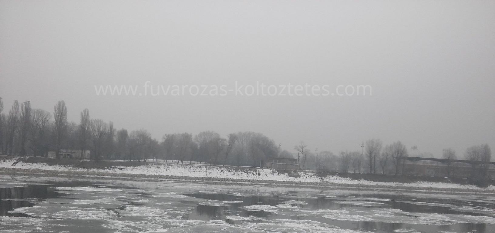 A Duna télen.