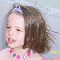 Adrika 6 éves oltása.