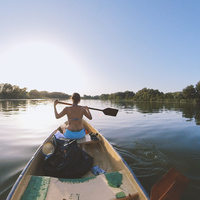 Tisza-tavi kenutúra egy tisztább tóért
