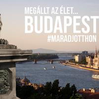 Budapest elnéptelenedett utcái 360 fokos videóval