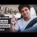 Filmes kameramozgások 360 fokos kamerával az autóban