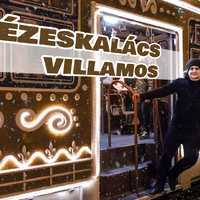Európa legszebb adventi villamosa Miskolcon - 360 fokos videóval
