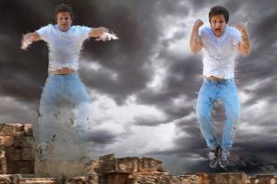 Teleportálás effekt a Hipervándor című filmből - Házilag!