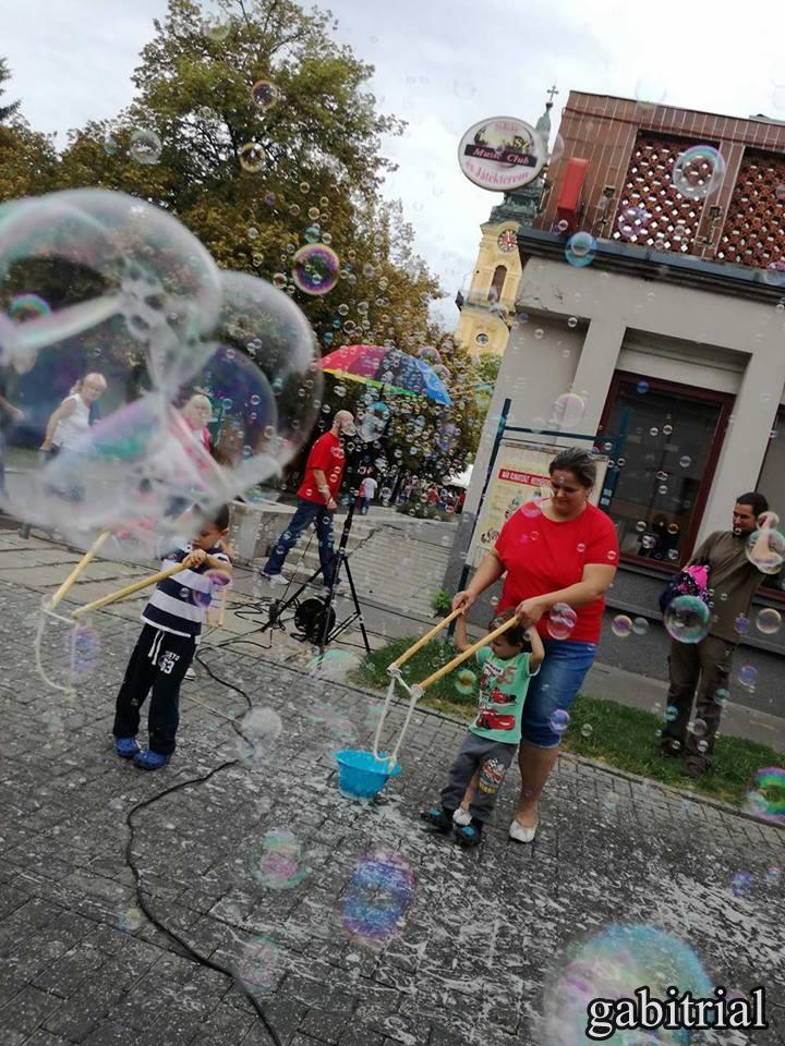 buborék program , gabitrial