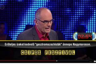 V. Nagymarosi Csípős Fesztivál - 2017. augusztus 26.