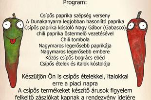 I. Nagymarosi Csípős Fesztivál a Piacon! (Nagymaros Főtér) 2013. augusztus 31.