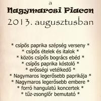 I. Nagymarosi Csípős Fesztivál a Piacon! (Nagymaros Főtér)