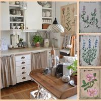 Botanikus stílus: inspiráló lakberendezés virágokkal, növényekkel, a természettel…
