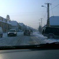 Havazás, hideg.. autó, tesco vip car és szar olaj