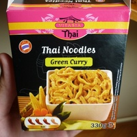 Thai noodles - green curry