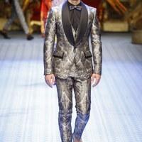 A tegnap, ma és holnap kollekciója a Dolce & Gabbana kifutóján