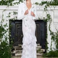 Monique Lhuillier lélegzetelállító esküvői ruhakölteményei