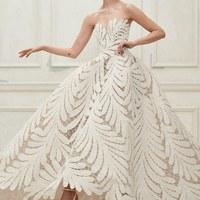 Káprázatos esküvői ruhák Oscar de la Rentától