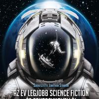 Borítómustra: Az év legjobb science fiction és fantasynovellái 2017