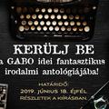 Az év magyar science fiction és fantasynovellái 2019 – Pályázati kiírás