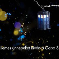 Kellemes ünnepeket kíván a Gabo SFF!