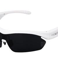 K2 okos napszemüveg hangvezérléssel és Bluetooth-kapcsolattal