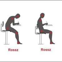 6 tipp, hogy ne fájjon a hátad, ha számítógépen dolgozol