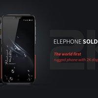 Elephone Soldier - ütésálló telefon egy pici hibával