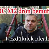 JJRC X12 Aurora drón bemutató