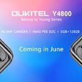 OUKITEL Y4800 - 48 megapixeles kamerával és Helio P60-nal érkezik!